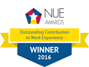 Outstanding Contribution to Work Experience - Winner